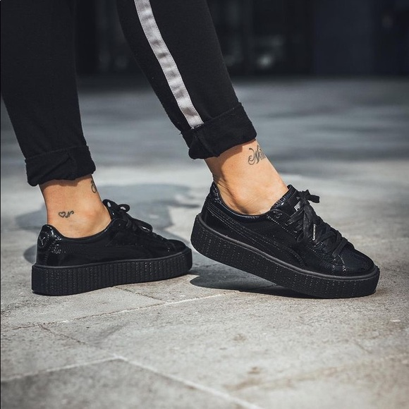dc3c93c0fb9 Fenty PUMA x Rihanna Creeper Cracked Leather